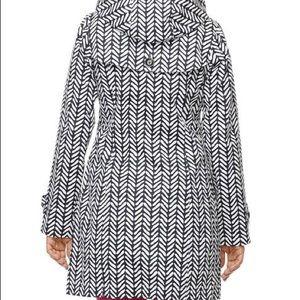 Blue & White Hatley Raincoat